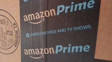 AmazonPrime shipment box.