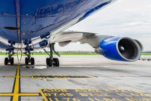 Aviation and Aerospace Parts Shipping-Aircraft on ground awaiting spare parts